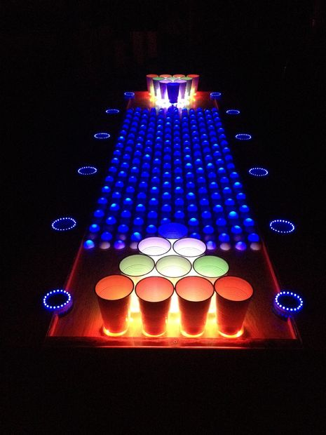 Make an Interactive Beer Pong Table